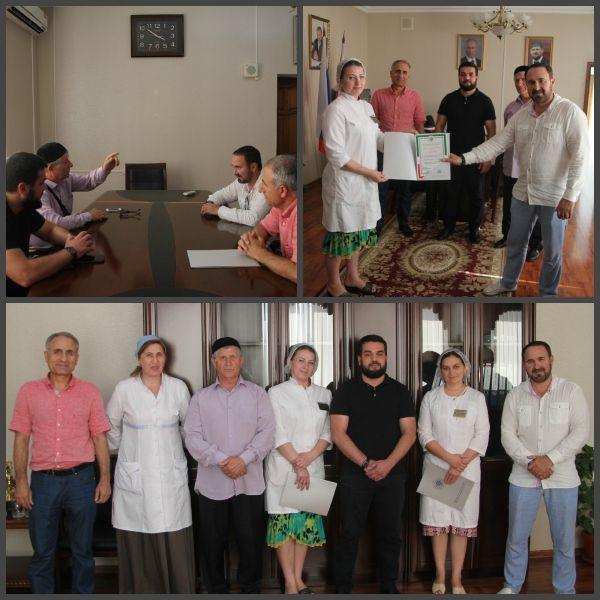 """Врачи """"Грозненской центральной больницы"""" получили благодарность от Общественной палаты ЧР"""