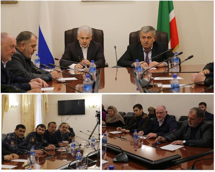 В Грозном обсудили итоги работы Комиссии по делам несовершеннолетних
