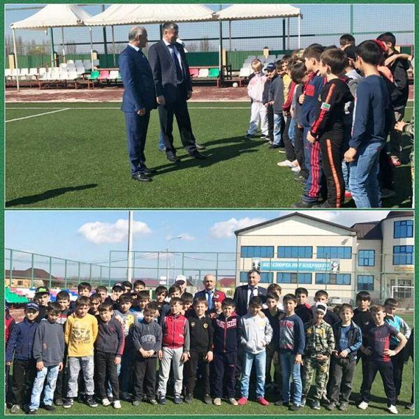 Чеченские депутаты провели беседу со спортсменами