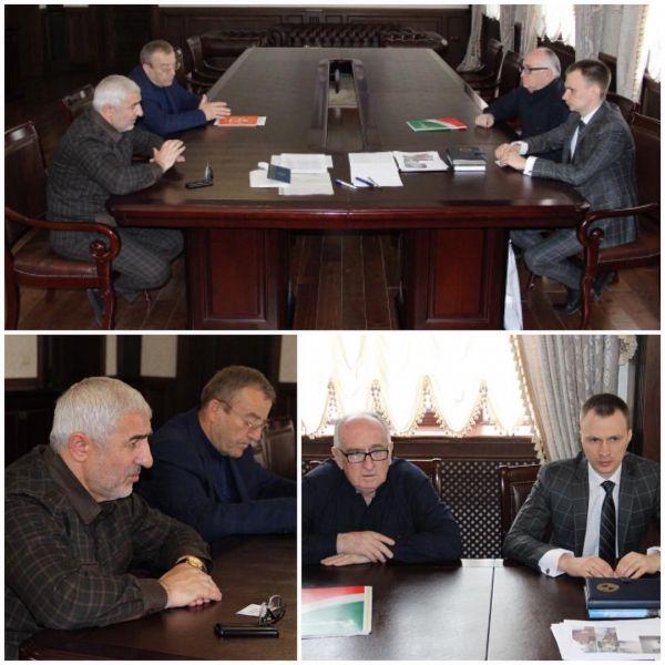 В Гудермесе прошла встреча чиновников с Липецкой делегацией