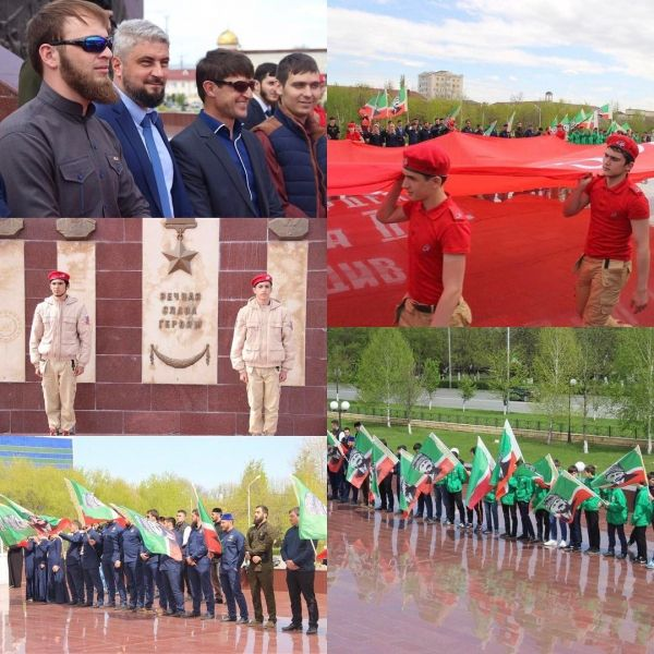 Патриотическую акцию «15 дней до Великой Победы» провели в Грозном