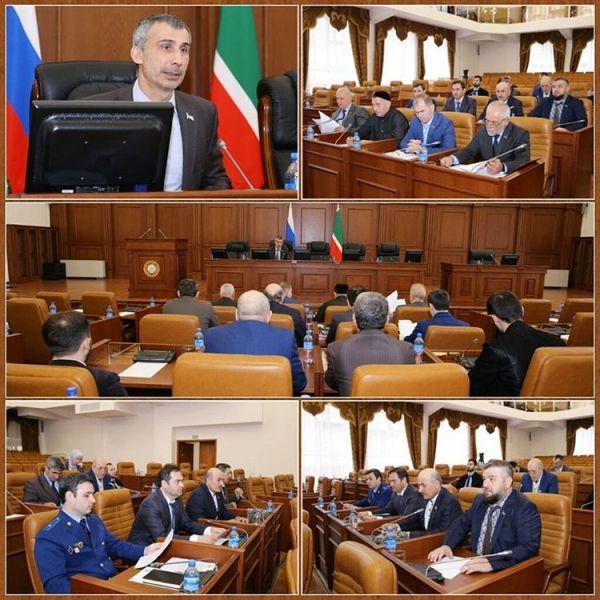 Проекты федеральных и республиканских законов обсудили в Парламенте ЧР