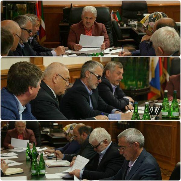 В Грозном обсудили подготовку к новому сезону водоснабжения
