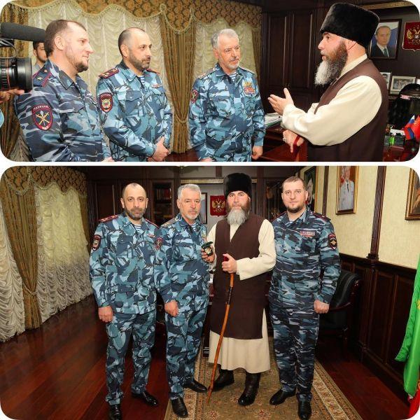 Салах-Хаджи Межиев награжден знаком «За отличие в борьбе против терроризма»