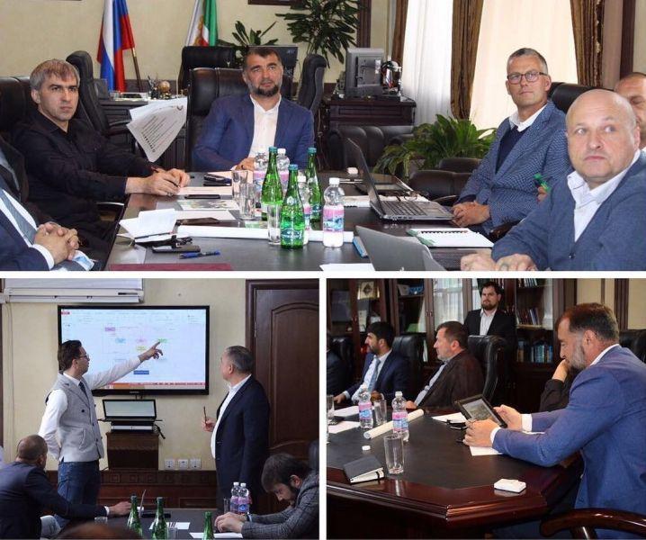 В Грозном прошли переговоры по строительству в ЧР селекционно-генетического центра по разведению КРС и МРС