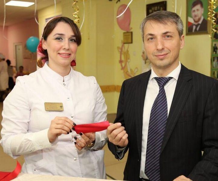 В детской поликлинике №3 г. Грозного открыли обновленную регистратуру