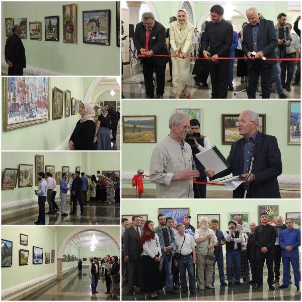 В Грозном открылась выставка «От сердца к сердцу»