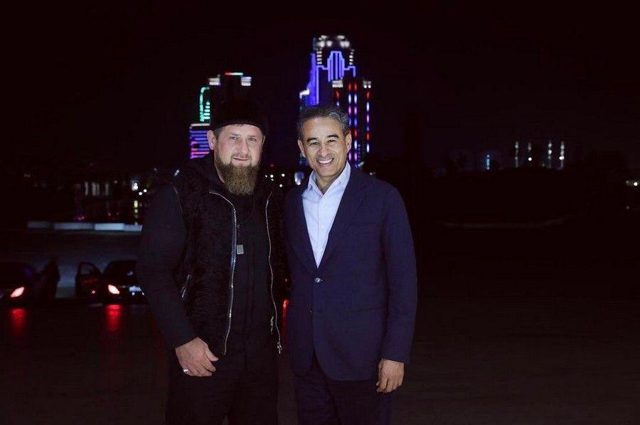 """Рамзан Кадыров встретился с президентом инвестиционной кампании ОАЭ """"ЭМААР"""""""