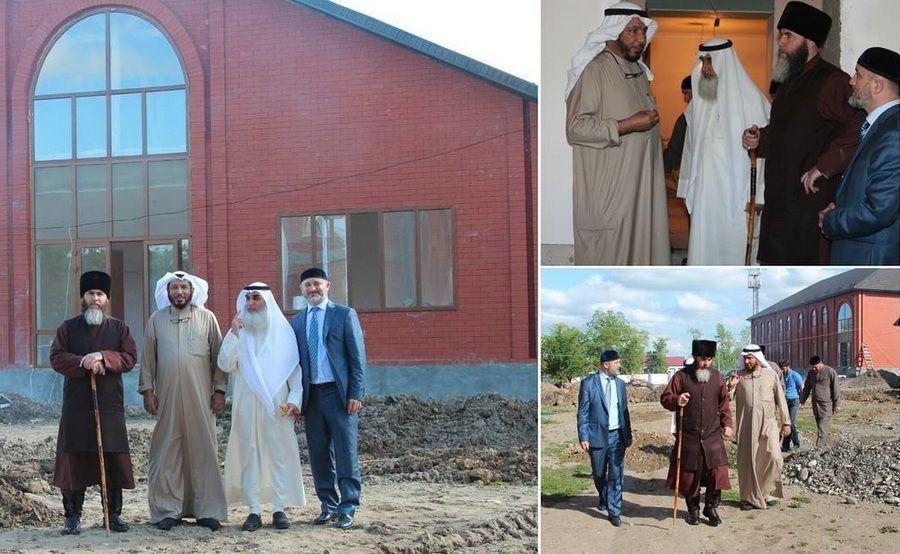Делегаты из Кувейта посетили рабочую площадку филиала Левантийского исламского института