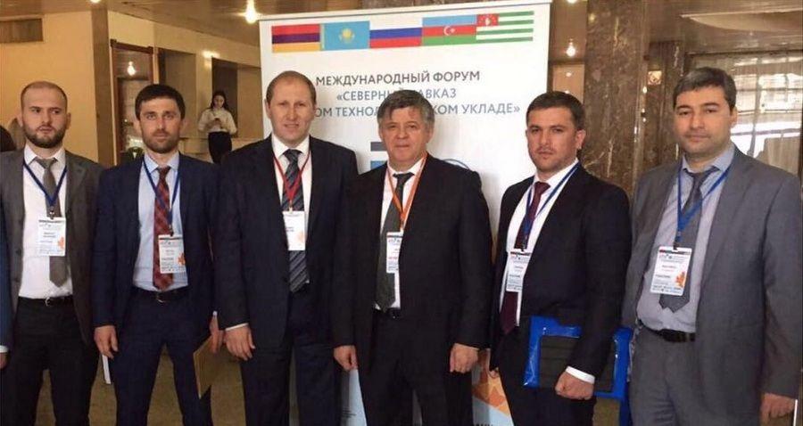 Чеченская делегация находится на форуме «Северный Кавказ в новом технологическом укладе»