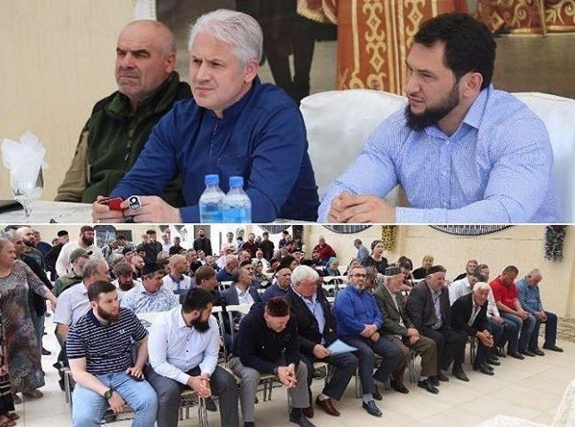 Муслим Хучиев встретился с жителями улиц Ханкальская и Узуева в Грозном