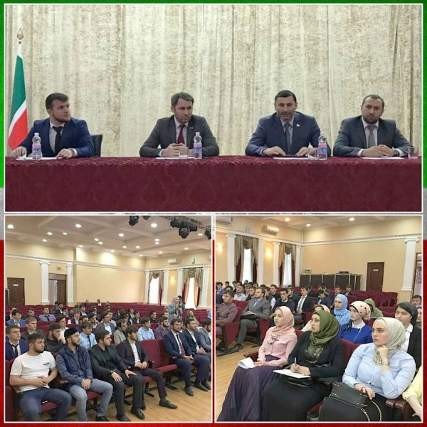Депутаты приняли участие в заседании Молодёжного парламента ЧР