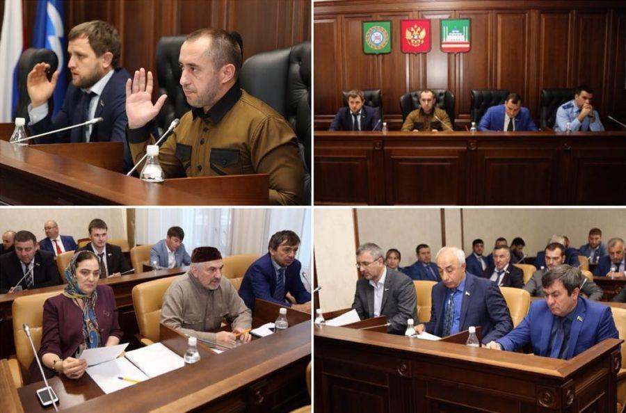 Совет депутатов Грозного рассмотрел на заседании 11 вопросов