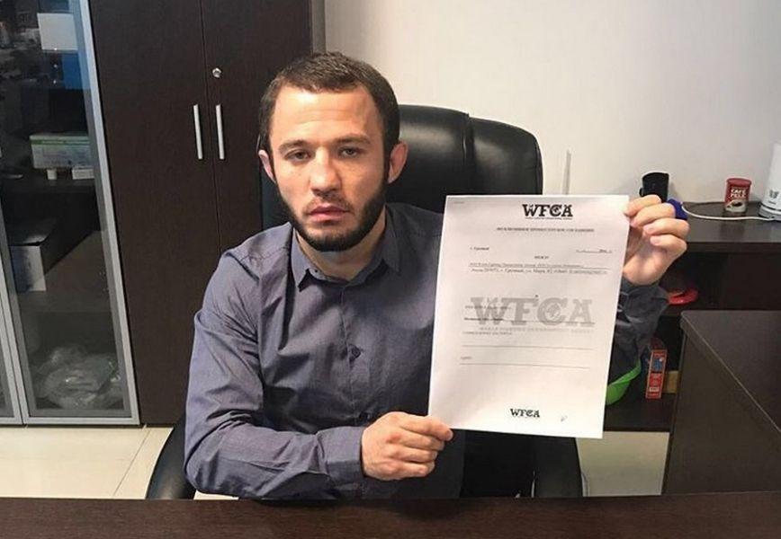 Дагестанский боец подписал контракт с Лигой WFCA