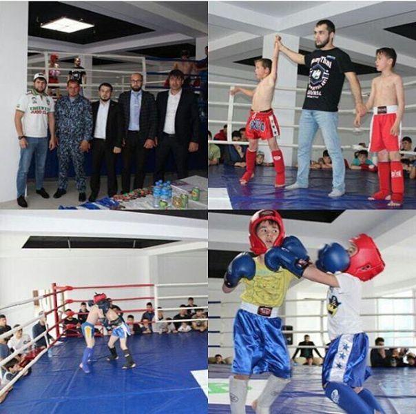 В Гудермесе прошел чемпионат по тайскому боксу