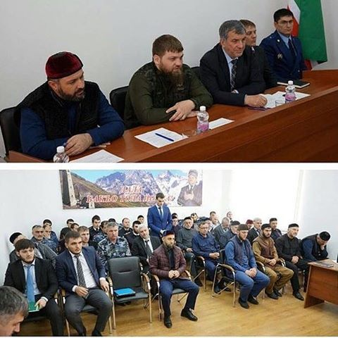 В Итум-Калинском районе обсудили вопросы противодействия терроризму и экстремизму