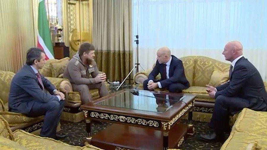 Рамзан Кадыров встретился с руководителями компании «Фармстандарт»