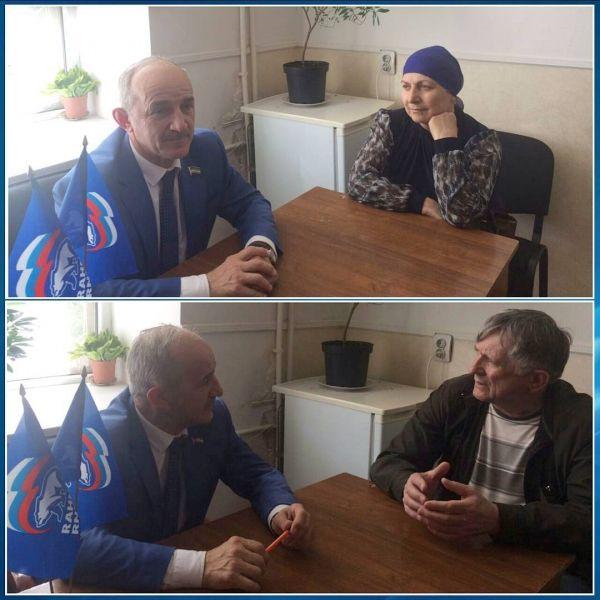 Иса Бисаев осуществил приём граждан