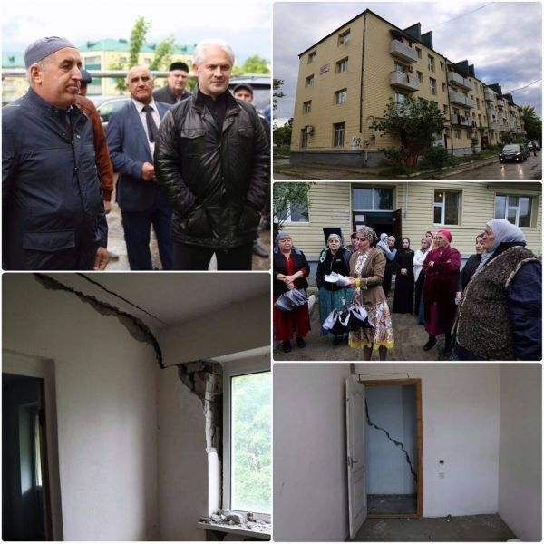 Муслим Хучиев встретился с жителями аварийных домов Старопромысловского района