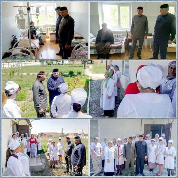 Чеченские депутаты посетили больницу в ст. Червленная