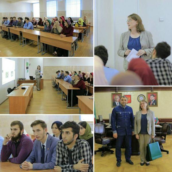 Лектор ДААД провела в ЧГУ воркшоп на немецком языке
