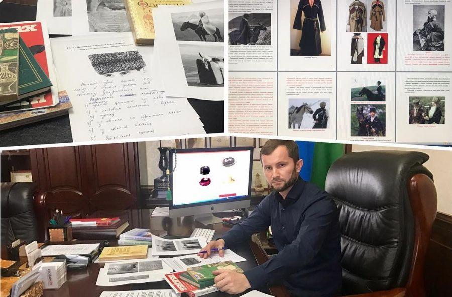 """Министр культуры ЧР анонсировал выход книги """"Традиционная национальная одежда чеченцев"""""""