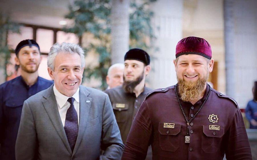 Рамзан Кадыров поздравил «Внешэкономбанк» с юбилеем