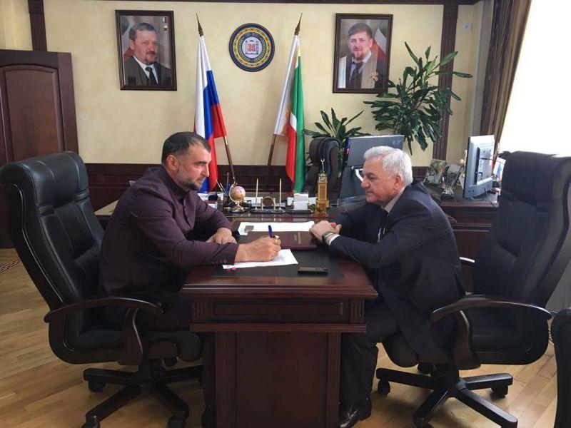 Министр СХ ЧР встретился с председателем Комитета Парламента по вопросам АПК