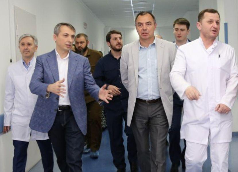 В РКБ им. Ш. Эпендиева открыли дооснащенное отделение травматологии и ортопедии