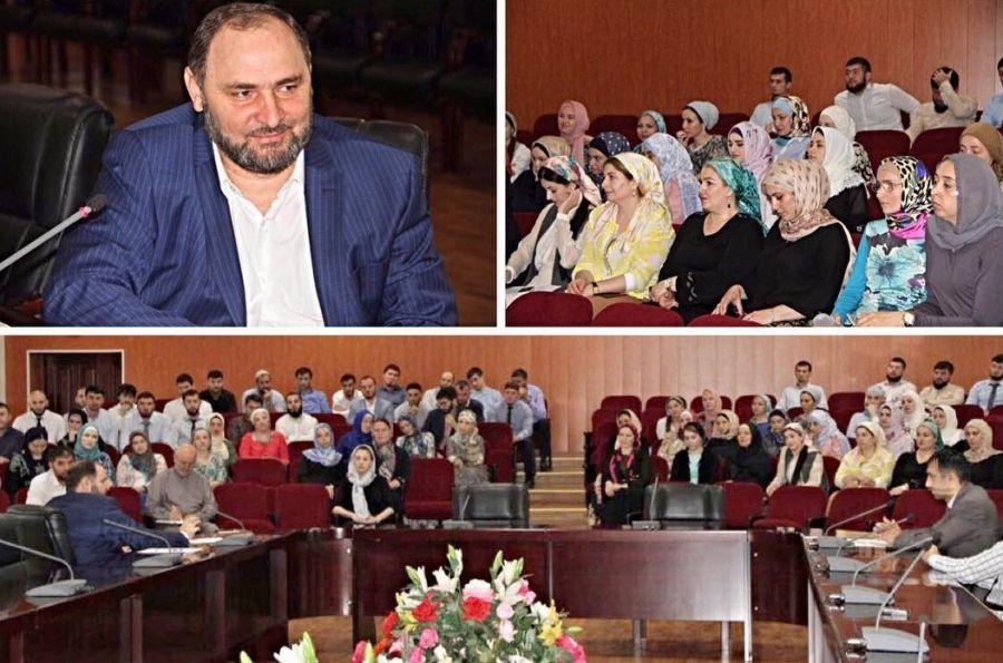 Султан Тагаев встретился с Советом молодежи при Минфине ЧР
