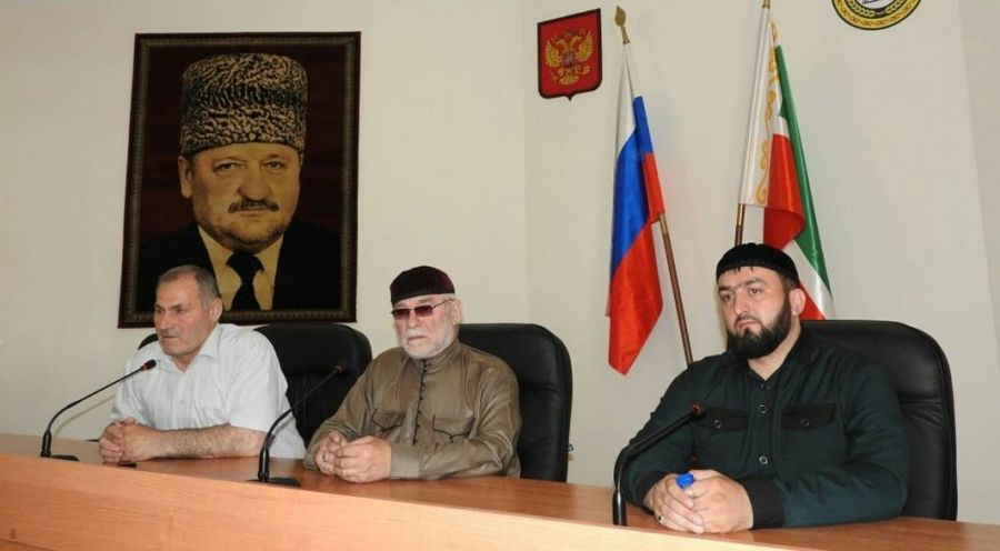 Кадий Шелковского района провел совещание с туркхами и имамами мечетей населенных пунктов