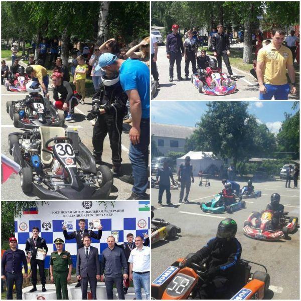 Юноши из Чечни заняли второе место в Открытом Чемпионате и Первенстве КБР по картингу