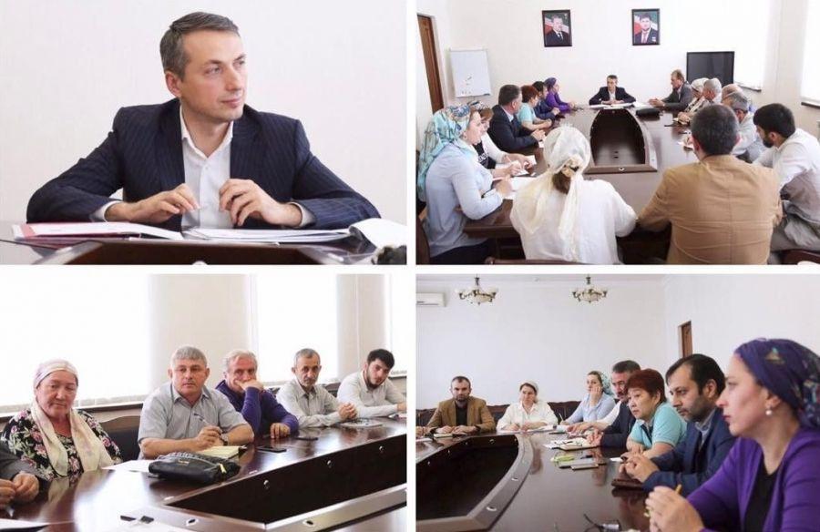 Минздрав ЧР посетила директор учебного центра «Менеджмент в здравоохранении» при Президенте России