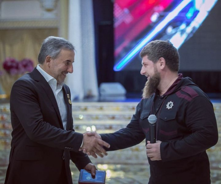 Рамзан Кадыров поздравил Руслана Лечхаджиева с днем рождения