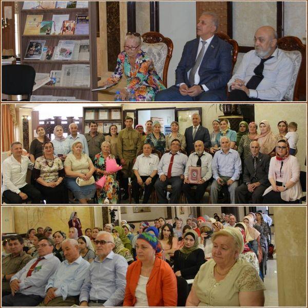 Гости из Ставрополья подарили Нацбиблиотеке Чечни книги