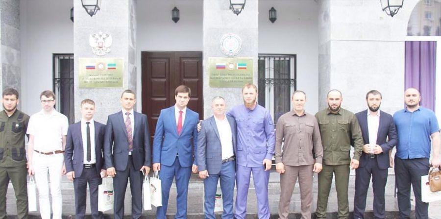 Минмолодежи ЧР посетили члены Молодёжного Правительства Владимирской области