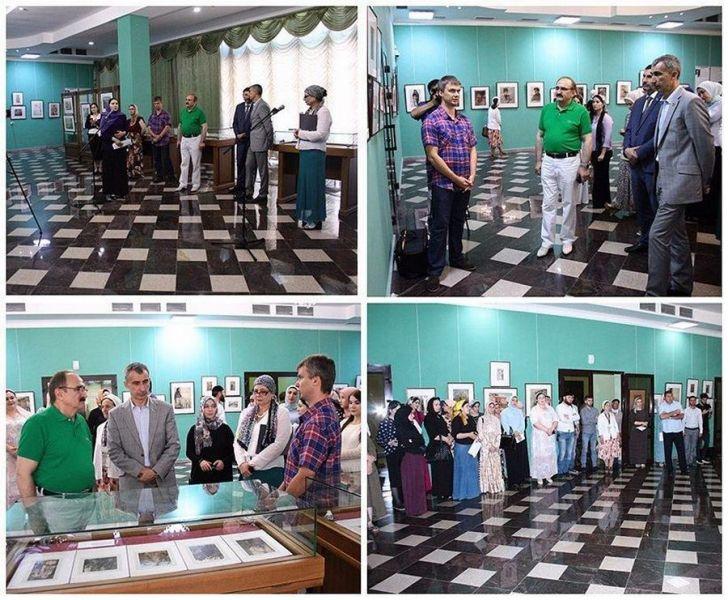 Выставка «Евгений Лансере в Дагестане» открылась в Грозном