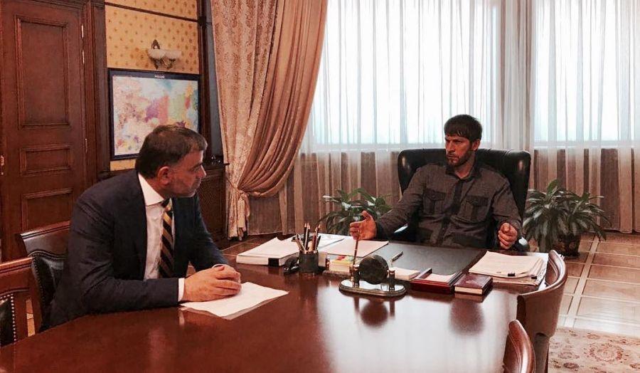 Председатель Правительства ЧР провел встречу с ректором ЧГУ