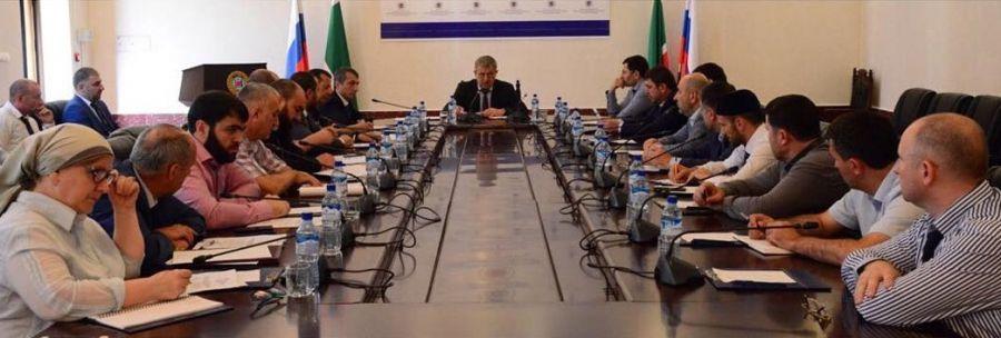 В Грозном готовятся к проведению заседания совета по организации защиты прав застрахованных лиц