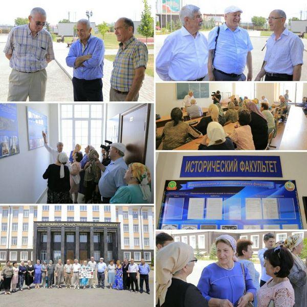 Выпускники ЧГУ встретились спустя 40 лет после окончания учебы
