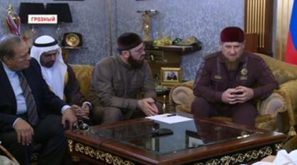 Р. Кадыров встретился с делегацией Египта, участниками всемирного исламского форума