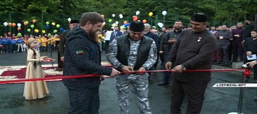 В Чеченской Республике открылся еще один круглогодичный детский лагерь «Горный ключ»
