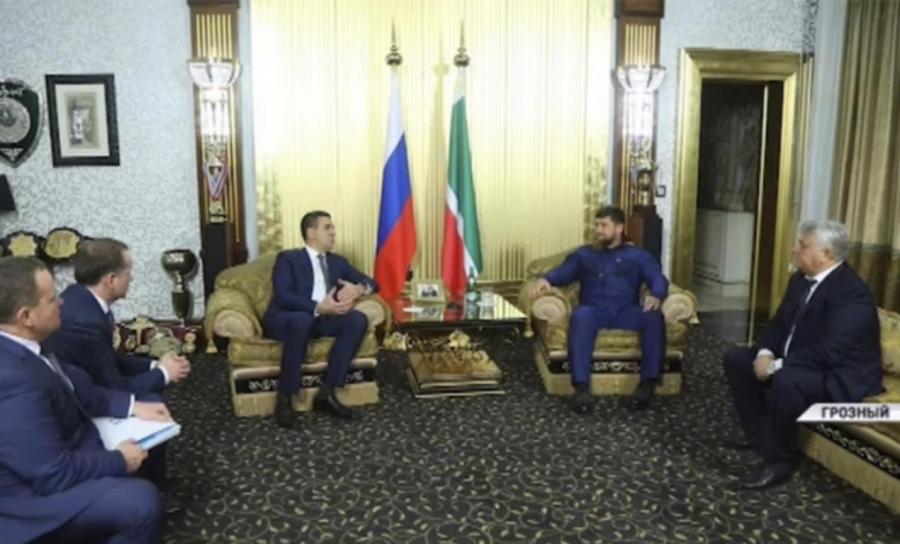 Р. Кадыров встретился с заместителем гендиректора ООО «Газпром межрегионгаз