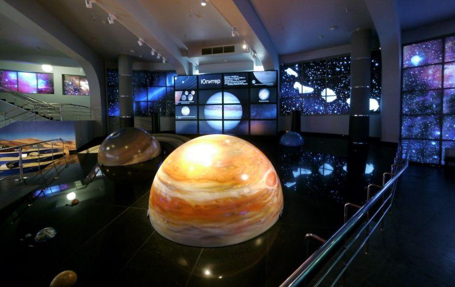 Крупнейший в мире планетарий построят в Петербурге