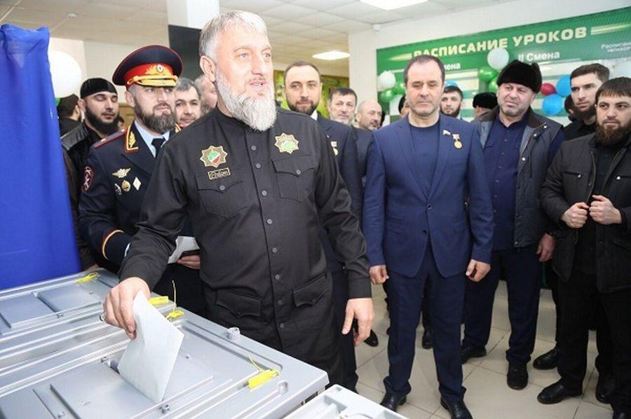 Депутаты Госдумы проголосовали на выборах Президента России