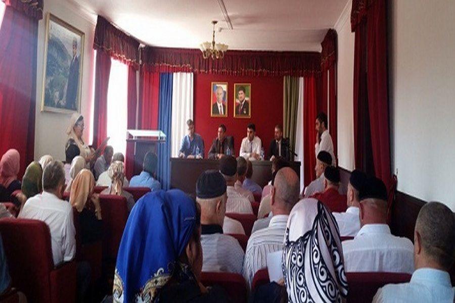 В Веденском районе обсудили вопросы налогообложения
