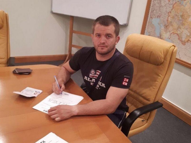 Боец Арсен Тлисов будет выступать в лиге WFCA