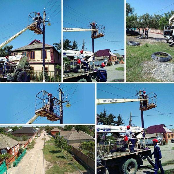 В Шелковском районе повышают надежность сетевых энергообъектов