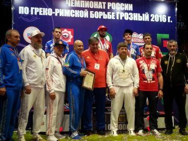 Р. Кадыров: «Чемпионат России по греко-римской борьбе в Грозном завершился триумфом чеченских спортсменов»