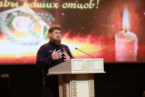 Торжественное собрание в честь Дня восстановления государственности чеченского народа прошло в Грозном